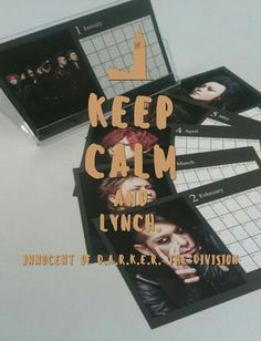 KEEP CALM AND lynch.×Innocent Of D.A.R.K.E.R. THE DIVISION