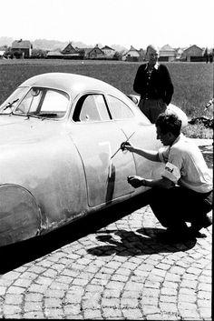 """Der Berlin-Rom-Wagen -Porsche Typ 64 """"T2222"""""""