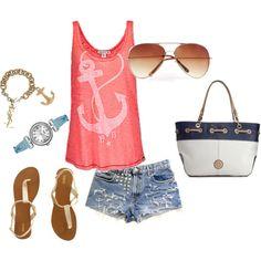 summer- anchor away