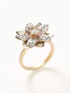 Louella Ring-Swarovski Jewelry  want. it.