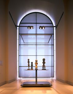 Wilmotte  Associés S.A . Project : Gallery . Louvre Museum, Department of Tribal and Aboriginal Arts - Pictures