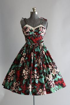 Vintage 1950s Dress / TuesdayRoseVintage