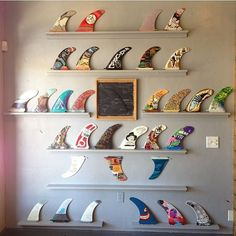 Wall of FINS +++ BOARDHOUSE +++