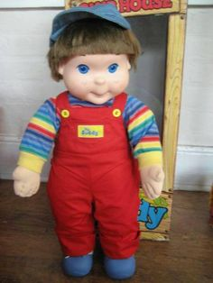 The My Buddy doll line was made by Hasbro in 1985 with the intention of making a doll to appeal to little boys and teach them about caring for their friends. This idea was both innovative and controversial for its time, as toy dolls were traditionally associated with younger girls.
