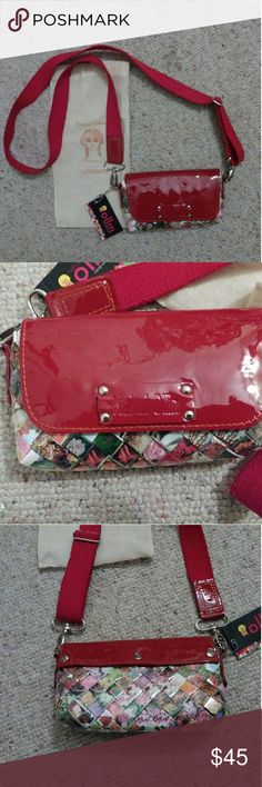 NWT Nahui Ollin Candy Wrapper Arm Candy Bag Made in Mexico from candy wrappers Cross body bag Nahui Ollin Bags Crossbody Bags