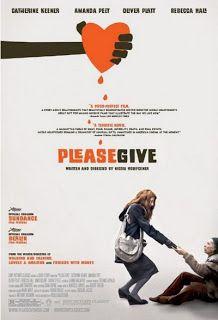 Nunca puedo resistirme a una interpretación de Catherine Keener, mucho menos cuando se trata de una deliciosa película independiente como «Please Give». Dirigida por Nicole Holofcener, se trata de una estupenda pequeña obra que plantea dos temas como la caridad y el capitalismo que entremezcla con elegancia y sutilidad.