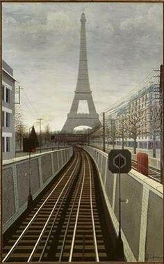 1930 Eiffel Tower, France--l'esprit swing's