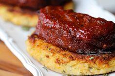 BBQ Meatloaf Stacks