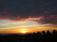 Sunrise over San Pedro, CA