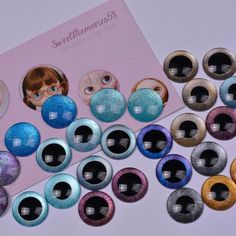 New bunch of eyechips for Blythe in our shop!