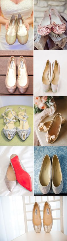 Comfort without Sacrificing Style! 27 Pairs of Gorgeous Bridal Flats