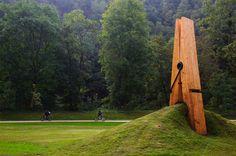 Claes Oldenberg, my first favorite sculptor.