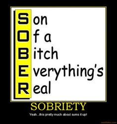 Going It Sober ...and In the News: Sept. 26, 2015 - Readings in Recovery: The Eye Ope... Recovery Humor, Addiction Recovery Quotes, Codependency Recovery, Aa Quotes, Funny Quotes, Tupac Quotes, Funny Memes, Libra Quotes, Humor