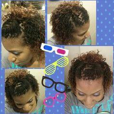 Awesome Short Sisterlock Style Short Sisterlock Style Pinterest Hairstyles For Women Draintrainus