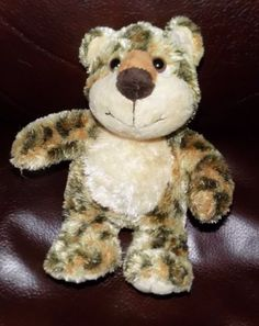 8-034-AURORA-People-Pals-VERY-SOFT-Spotted-Leopard-Cheetah-KITTY-CAT-15