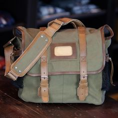 The manliest diaper bag you've ever seen, built from 100% waxed canvas and rugged leather. It was designed by the Buffalo Jackson's founder, a father of three who realized a need for a men's diaper bag that gets the job done but doesn't look like it was designed by the illustrators of his kids' picture books.