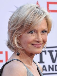 I have always liked Diane Sawyer's haircuts....she hasn't had any plastic surgery!!! and she is still beautiful:)