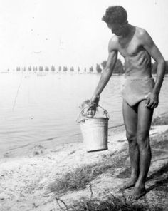 Fun time at the Lake Balaton, Hungary 1950 Poster Pictures, Old Pictures, Black And White Photography, Hungary, Good Times, Bali, Marvel, History, Retro
