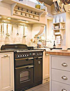 CUISINIÈRE PIANO Cuisinière Gaz KITCHNER Notre Petit - Largeur gaziniere pour idees de deco de cuisine