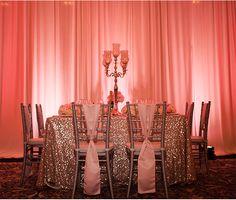 Glamorous Wedding Inspiration at Mission Inn Resort in Orlando / Kathy Thomas Photography via StyleUnveiled.com