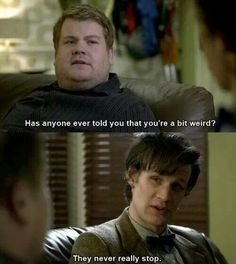 """Matt Smith as the Eleventh Doctor - """"The Lodger"""""""