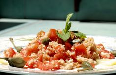 Panzanellla - Typical recipe from Tuscany!