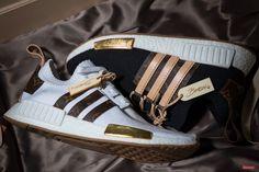 7c673dcb7 Craig David s Louis Vuitton x adidas NMD Customs Make Us Drool Custom  Sneakers