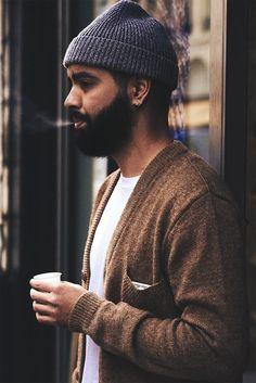 Beanie beard tumblr Style streetstyle