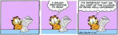 Garfield | Daily Comic Strip on April 20th, 2007