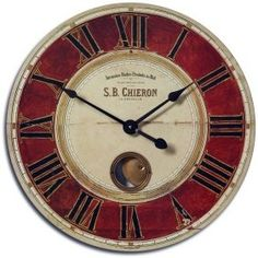 roman numerals and possible second dial.