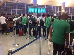 BureauSpy: Stranded Nigeria U23 team about to depart from Atl...