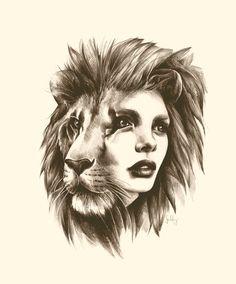 I want a lion tattoo, leo all the way