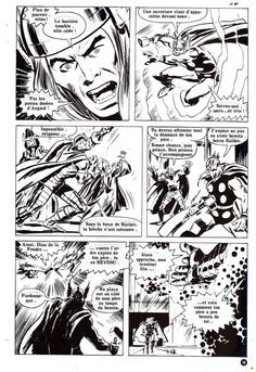Thor #249 pg 14 French translation Comic Art Ms Marvel, Captain Marvel, Comic Books Art, Comic Art, John Buscema, Splash Page, Art Archive, Art Store, Art Pages