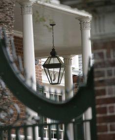 "UECo - Charleston Hang - UE-1001 Urban Electric Lantern 8"" x 17"", 10""x 21"", 15.5"" x 31"""