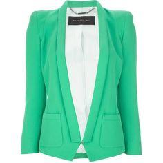 BARBARA BUI shawl collar blazer ($1,055) ❤ liked on Polyvore