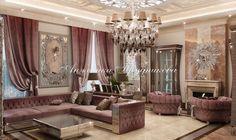 Авторский дизайн интерьера дома на Рублевке