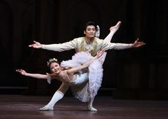 The Royal Ballet - Yuhui Choe as Aurora and Ryoichi Hirano as Prince Désiré in The Sleeping Beauty. Photo: Emma Kauldhar by kind permission of the ROH