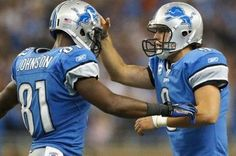 Matthew Stafford & Calvin Johnson