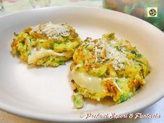 Frittelle zucchine e patate con formaggio  Blog Profumi Sapori & Fantasia
