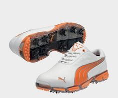 PUMA Super Cell Fusion Ice Golf Shoes - Men's Golf Footwear - PUMA Golf Attire, Golf Outfit, Mens Golf Fashion, Best Golf Shoes, Air Max Sneakers, Sneakers Nike, Cobra Golf, John Boy, Gifts For Golfers