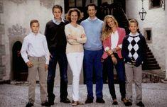 Luxarazzi: Hereditary Princely Family of Liechtenstein, early 2010s-Prince Nikolaus, Prince Wenzel, Hereditary Princess Sophie, Hereditary Prince Alois, Princess Marie-Caroline, Prince Georg