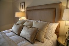 King size bed (UK king is 5 foot wide) Beds Uk, Holiday Accommodation, Luxurious Bedrooms, King Size, Luxury, Furniture, Home Decor, Luxury Bedrooms, Homemade Home Decor