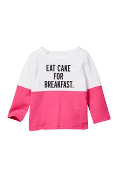 Eat Cake For Breakfast Top (Baby Girls) by kate spade new york on @nordstrom_rack