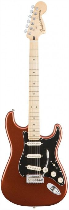 Fender Deluxe Roadhouse Stratocaster - Classic Copper / Maple   GigGear