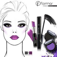 Nuestra sugerencia de #maquillaje: los #ojosAhumados y la intensidad del #púrpura con Deluxe Shine Gloss Stylo