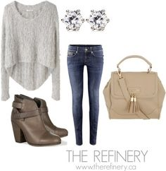 Everyday Ease - a beautiful casual outfit idea from The Refinery in Toronto.