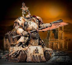 Death Guard diorama