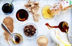 (Almost) Sweet Like Candy: Your Guide to Baking With Sugar Alternatives - Everything you need to know about baking with less sugar and alternative sweeteners, like honey, maple syrup, and coconut sugar. Sweet Like Candy, Healthy Sugar Alternatives, American Cake, Processed Sugar, Food Science, Baking Science, Natural Sugar, Detox Recipes, Detox Foods