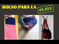 BOLSO TOALLA PARA PLAYA - Reciclaje