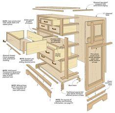 Cool Wood Dresser Plans How To Build A Dresser Diy Timelapse